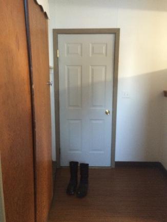 Mudroom/back door
